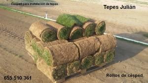 Rollos de Instalación de tepes