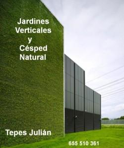 Jardines Verticales y Césped natural