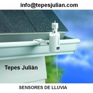 Sensores de lluvia